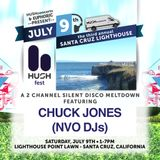 Chuck Jones (NVO DJs) - Live at HUSHfest Silent Disco Santa Cruz 7-9-16
