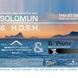 Diynamic Label Showcase with Solomun & H.O.S.H. live from El Pirata I / 30.08.2012 / Ibiza Sonica