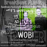 BreakBeat FLavR with FLavRjay on PHEVER Radio, WOB! Live D'n'B Special 14-July-17