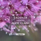 Cadenza Podcast | 255 - Alice Clark (Cycle)