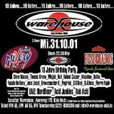"Rob Acid LIVE PA at ""10 Jahre Warehouse"" @ Warehouse Club (Köln-Germany) - 31 October 2001"