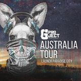 GPROJECT- AUSTRALIA TOUR 2018 vs paradise city