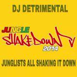 Dj Detrimental Junglists all shaking it down #JUNGLESHAKEDOWN MIX