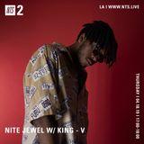 Nite Jewel w/ King-V - 18th April 2019