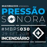 Pressão Sonora - 29-09-2018