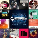DEEPINSIDE RADIO SHOW 034 (Manoo Artist of the week)