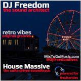 DJ Freedom's House Massive: Saturday Special (for House54.FM) Nov 2018