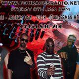 www.fouracesradio.net - Friday 8th 2016 - Mrs Magoo - Jaguar Paw - Yush - Peluso