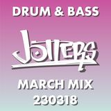 Jotters March 2018 mix - drum and bass