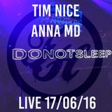 Tim Nice & Anna MD Live In Belushis 17/06/16