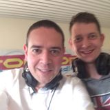 white frog en christopher at top radio aalter 104.7 FM 25-05-2016