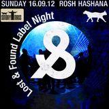 Muzarco set @ Lost & Found label night, Tel Aviv 16/09/2012