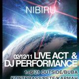 Kontrbass-live@Nibiru festival 02.12.11