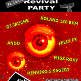 Roland 138 BPM Live-DJ-Set@WALFISCH Revival Party (13.11.2015)