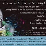 Creme de la Creme Sunday chillout, April 2nd 2017