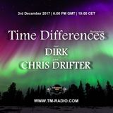 Chris Drifter - Guest Mix - Time Differences 291 3rd December 2017 on TM Radio