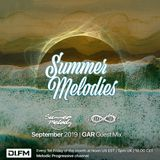 Summer Melodies on DI.FM - September 2019 with myni8hte & GAR