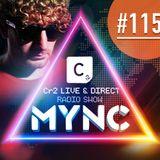 MYNC presents Cr2 Live & Direct Radio Show 115