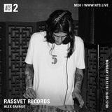 Rassvet Records w/ Alex Savage - 11th January 2019