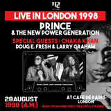 PRINCE - LIVE IN LONDON 1998 [BEAUTIFUL STRANGE]
