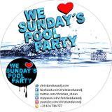 CHRISTIAN DURÁN - LIVE@WE LOVE SUNDAY´S POOL PARTY (04-08-13)