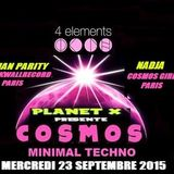 "Nadja B2B Julian Parity @ 4 Elements / ""Cosmos"", Paris (23/09/2015)"