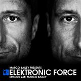 Elektronic Force Podcast 248 with Marco Bailey