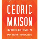 Universal Vibes/ Cedric Maison live at the Horse and Groom promo mix/