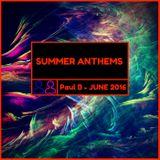 Summer Anthems June 2016