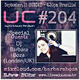 Underground Connection Show Radio by DJ Mauro Trevisan - Special Guest Barbara Boza