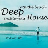 Deep into the beach inside your house. 001