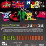 Ricky Montanari @ We Love Hipe Club at Lido Turistico, Napoli - 10.06.2011