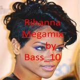 Rihanna Megamix (20 tracks, 2018)