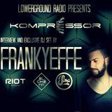Kompressor - Interview and exclusive dj set by FRANKYEFFE
