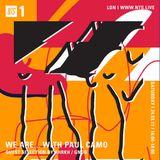 We Are w/ Paul Camo - 25th March 2017