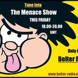 Glenys The Menace's Friday Night Show on Belter Radio 16th September 2016