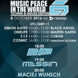 Martin Darth- Tech Clinic #19 - Music Peace in the World -Radio Show
