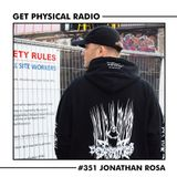 Get Physical Radio #351 (Guestmix by Jonathan Rosa)