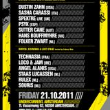 Sasha Carassi @ Driving Forces & Sleaze Showcase (ADE) (21.10.11)