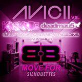 Kaskade, Deadmau5 vs. Avicii - Move For Silhouettes (Beep Bros & Sandy Pigeons Mashup)