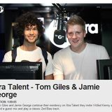 Jamie George & Tom Giles BBC Radio 1xtra (xtratalent) [may] week three.