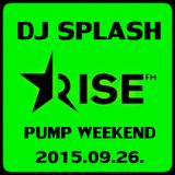 Dj Splash (Lynx Sharp) - Pump WEEKEND 2015.09.26.