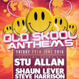Shaun Lever WheatSheaf St Helens Oldskool Anthems With Guest Stu Allan Friday June 29th Promo Mix