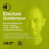 Coolectrik Session with Electum Goldensun at LocoLDN.com on 27 October 2015