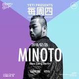 YETI presents MINOTO (Bass Gang Berlin) LIVE @ Le Baron