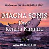 Dirk - Host Mix - MAGNA SONIS 025 (20th December 2017) on TM Radio
