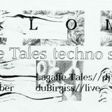 Lagaffe Tales techno special Vol. 3 at Paloma 15.10.2015