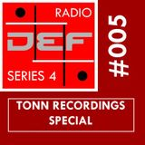 DEFSYNTH radio Series 4 episode 5 - TONN Recordings Special 20th November