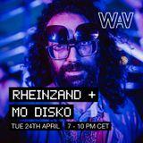 Mo Disko presents Rheinzand +   24-04-18