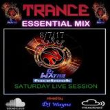 FaceBook Live Trance-Session(8.7.17)